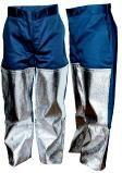 Pantalon écriqueur tissus E2D2C + jambières aluminisées sur velcro.