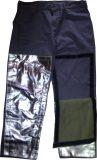 Pantalon coton traité proban + jambières aluminisées sur velcro
