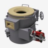 Four de fusion pour métaux lourds chauffé par combustible
