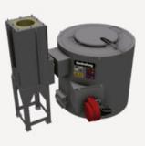 Four de fusion pour métaux légers chauffé par combustible