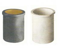 Creusets graphites avec enveloppe céramique
